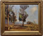 California Landscape Impressionist Painting by George Gardner Symons