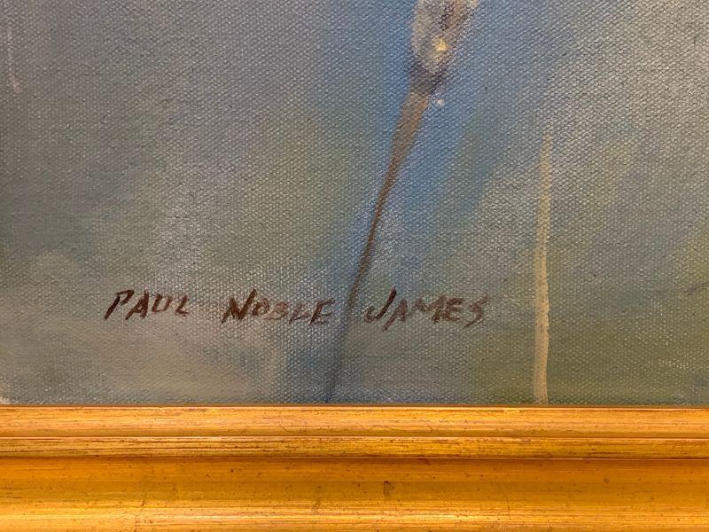 Paul Noble James, American 20th C.