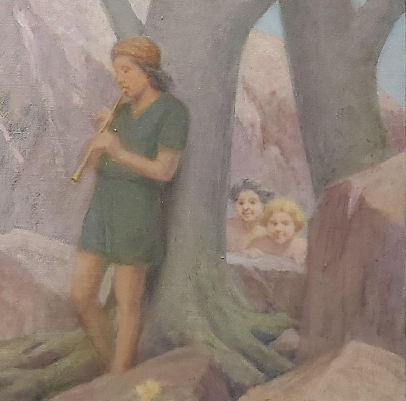 Charles Mills, American 1856-1956, Allegory