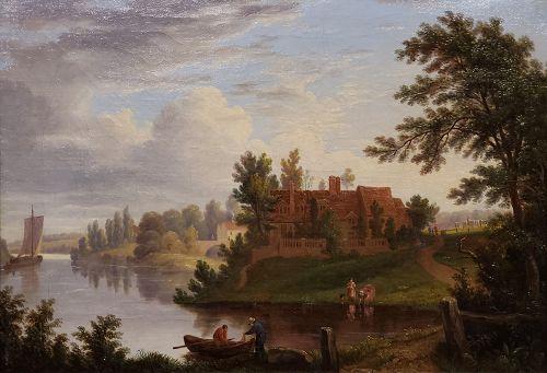 George Vincent, British 19th C (exhibited 1814-1831)