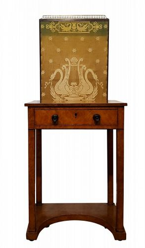 George IV Burr Elm Dressing Table, circa 1825