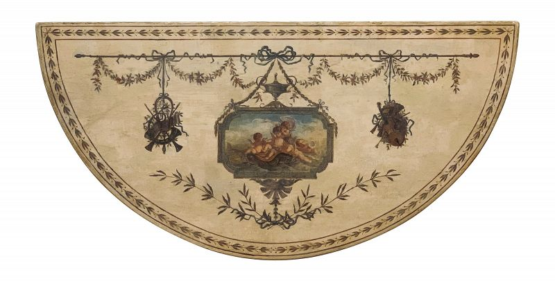 George III Paint Decorated Console, circa 1785.