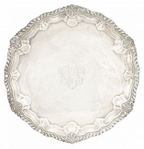 Howard and Company Sterling Silver Salver, early 20th C