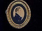 American School Miniature Portrait, Ca. 1810.