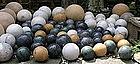 Large Group of Marble Carpet Balls