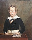 Pair of American School Portraits, Southern, Circa 1830