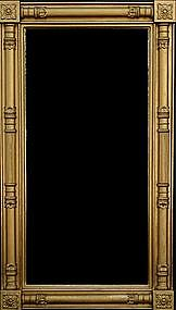 Federal Giltwood Pier Mirror, Probably Boston, ca.1820