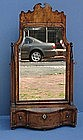 Queen Anne Walnut Dressing Mirror, circa 1715