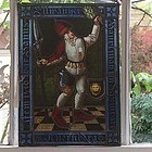 German Stained Glass Panel, 19th C