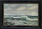 Carl Jacoby, Polish, Marine painting, Ca. 1930