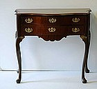 Dutch Mahogany Dressing Table, late18th/early19thC
