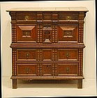 Charles II Oak Chest of Drawers, 17th C