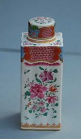 Samson Porcelain Tea Cannister, Early 20th C.