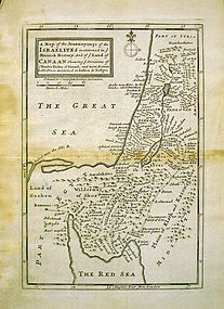 Carrington Bowles, Journeyings of the Israelites, 1700s