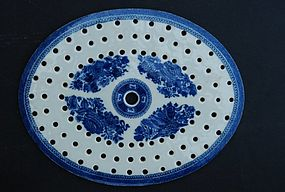 Chinese Export Porcelain Fitzhugh Mazarine, Ca. 1800
