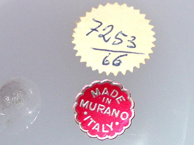 "RARE Murano SEGUSO PINK ALABASTRO 27"" Vase - IN BOOK"