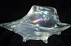 Murano IRIDESCENT CONCH SHELL Centerpiece Sculpture