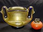 RARE Murano ERCOLE BAROVIER Gold Flecks EUGENIO Vase
