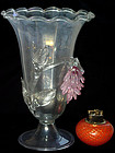 Murano FERRO BAROVIER TOSO Deco 30s IRIDESCENT Vase