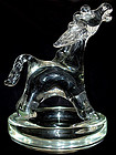 Murano ARCHIMEDE SEGUSO Donkey Sculpture on Bowl
