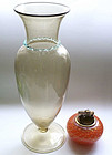 Venetian Style Early 1900 Murano SOFFIATI Baluster Vase