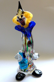 Murano Large PAULY Label Drunken CLOWN Sculpture