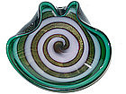 RARE Murano BARBINI SEGUSO Optic Swirl SFUMATO Bowl
