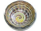 Murano BAROVIER GEODE AVENTURINE Flecks Swirls Bowl