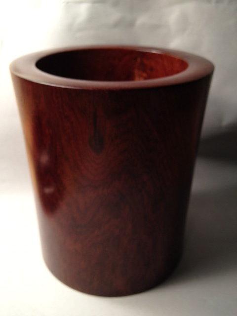 A Huanghuali Brush Pot