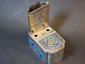 Chiese enamel box