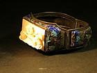 Chinese sliver enameled bracelet