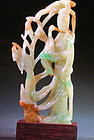 carved jadeite Guangying