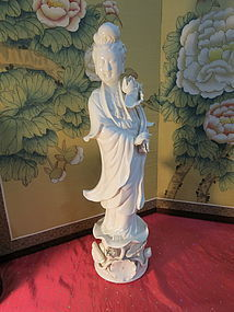 Chinese White porcelain Guangyin
