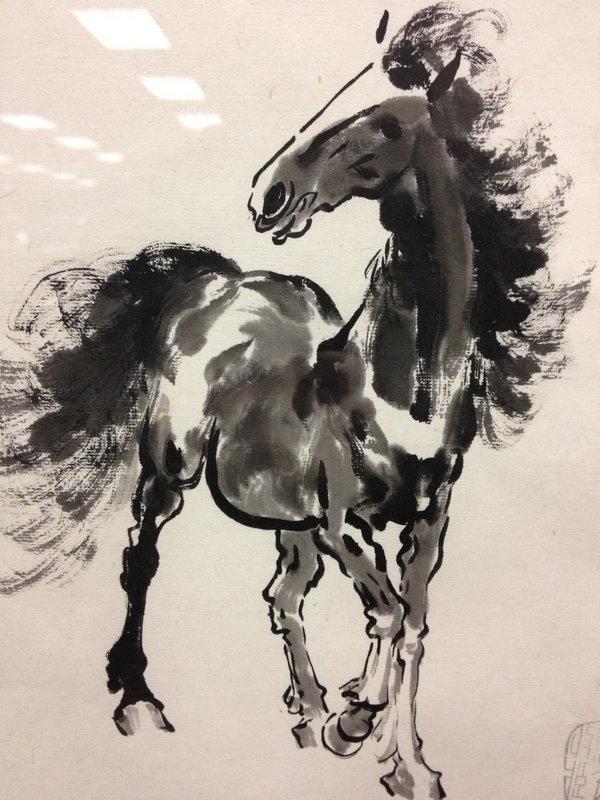Chinese horse painting Biehong