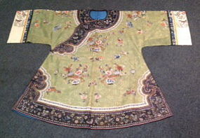 Chinese antique lady's embrodered coat