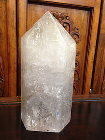 Beautiful nature rock crystal oblisk