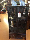 Chinese antique book cabinet