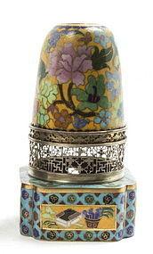 Cloisonne Enamel opium lamp  Lantern