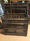 Antique Chinese antique wooden bird or chicken cage