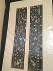 Chinese antique silk embroidered a pair of sleeve bands
