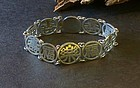 Chinese silver lucky bracelet