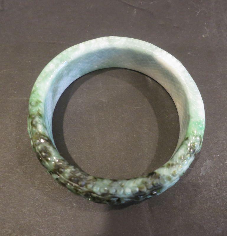carved jade bracelet bangle