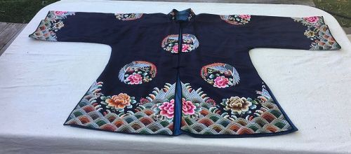 A lady's Chinese silk wedding jacket