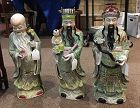 Chinese Porcelain Three Star Immortals