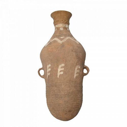 A NEOLITHIC POTTERY AMPHORA