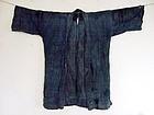 Antique Japanese Boro Textile Noragi Work Wear Edo period 19c