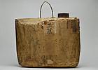 Block of antique Japanese Shinto gofu amulets 19c