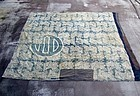 BORO vintage textile cotton kotatsu coverlet