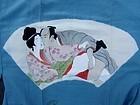 Shunga Juban - Pornographic silk kimono undergarment