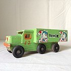 Sparrow truck - Japanese vintage wooden toy